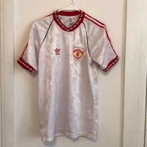 Manchester United 1991 Replica shirt.
